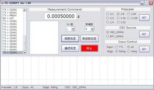 FC-S200P1 0.0005s
